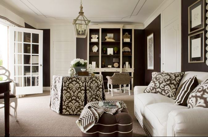 Pretty sitting room nbaynadamas furniture and interior - White sitting rooms ...