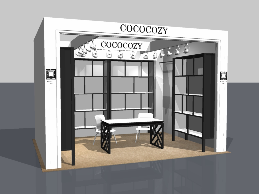 COCOCOZY: DESIGNING A BRAND - COCOCOZY 3-D AT THE NEW YORK