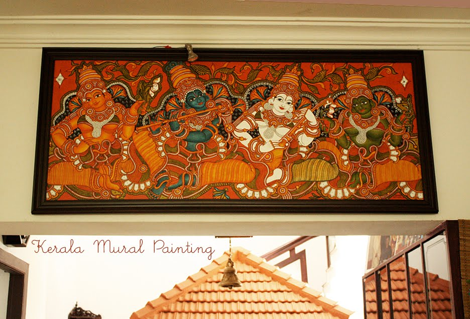 Kerala Paintings – Historical Context – Mural Paintings of Kerala