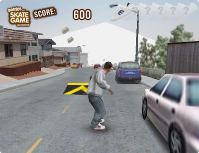 Skateboarding Downhill Game