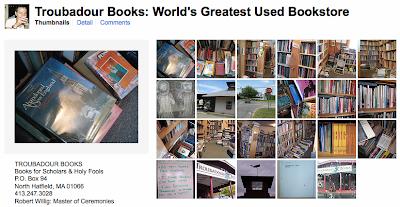 TROUBADOUR BOOKS NORTH HATFIELD
