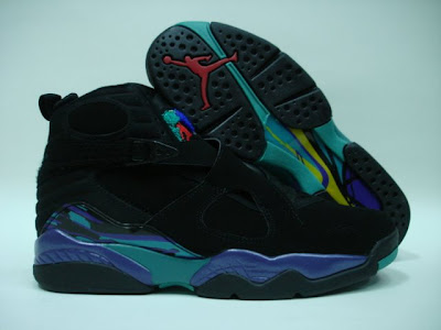 """brand new 82e1c ab58d The Air Jordan 8 was released during the 1992-93 """"Three-Peat"""" Championship  season. The Air Jordan 8 was the last Air Jordan shoe that Jordan wore  before ..."""