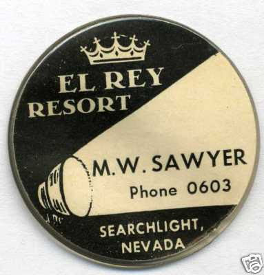M.W. Sawyer Business Card Chip