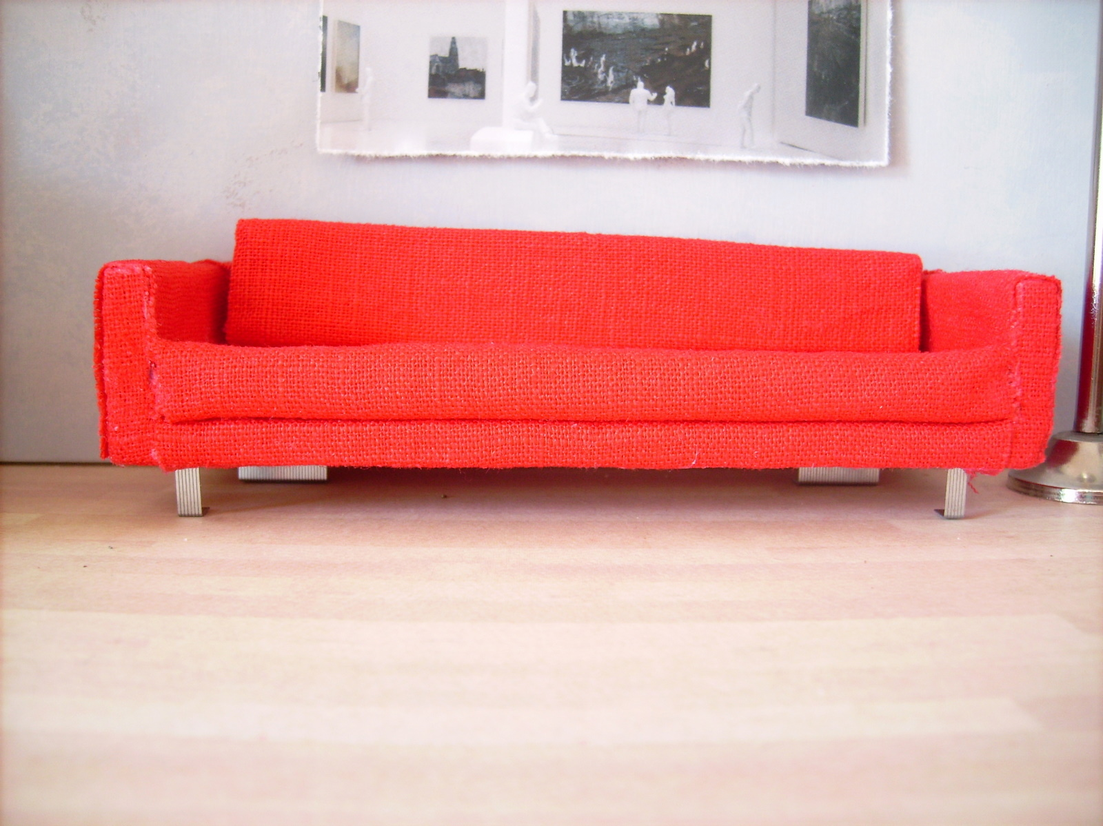 Raum F R Raum Das Rote Sofa The Red Sofa
