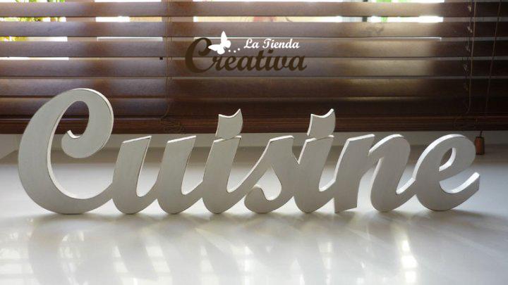 La tienda creativa letras para decorar y mucho m s letras de madera - Letras de madera decorativas ...