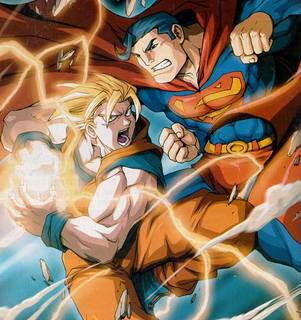 Goku Vs. Superman ¿Quien gana?