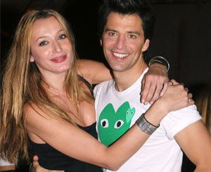 На фото: Сакис Рувас и Катя Зигули