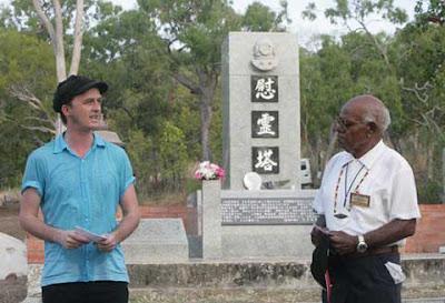 Japanese Ceremony-Australian Cemetery