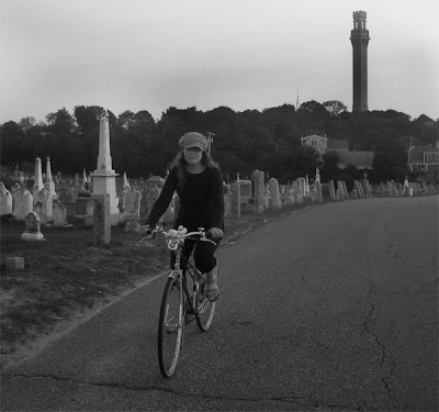 cemetery bicycle lane funeral