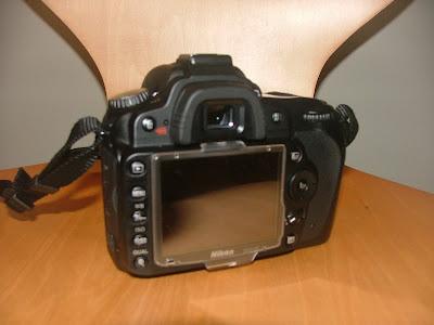 Nikon D90 back