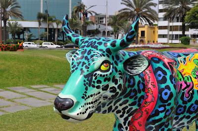 Cow Parade Lima: Vaca Otorongo