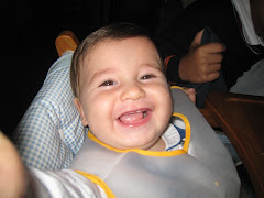 Álvaro ya tiene dientes