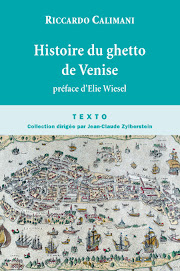 HISTOIRE DU GHETTO DE VENISE de Riccardo Calimani