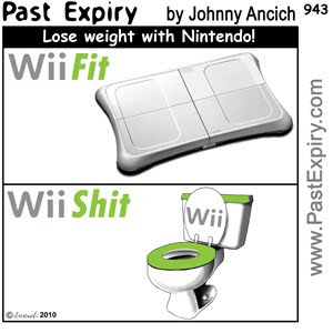[CARTOON] Wii Fit , images, pictures, image, picture, cartoon, entertainment, games, health, kids, diet, wii, fit
