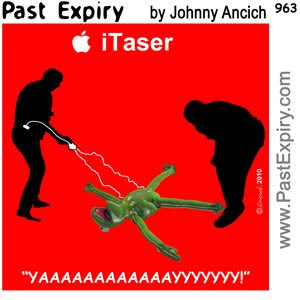 [CARTOON] Taser II.  images, pictures, advertising, animals, cartoon, celebrity, Apple, kids, spoof