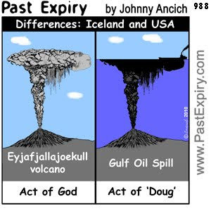 [CARTOON] Difference between Iceland and USA Part 2.  images, pictures, US, Iceland, cartoon, environment, pollution, volcano