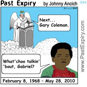 [CARTOON] Gary Coleman.  images, pictures, cartoon, celebrity, death, entertainment,