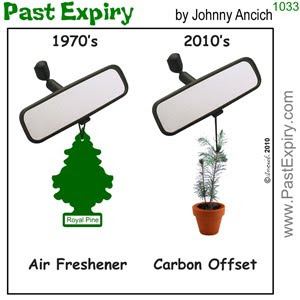 [CARTOON] Easy way to reduce your car's carbon footprint.  images, pictures, cartoon, environment, economy, government, money
