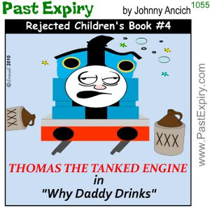 [CARTOON] Rejected Children's Book #4. rejected, kids, drinks, cartoon, books,