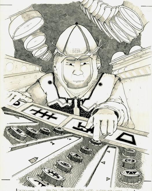 Ilustração para livro infanto juvenil da Editora Melhoramentos