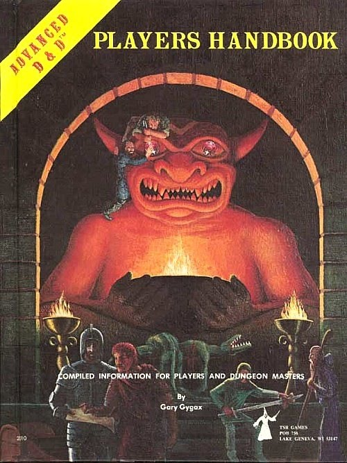 player s handbook dungeons and dragons