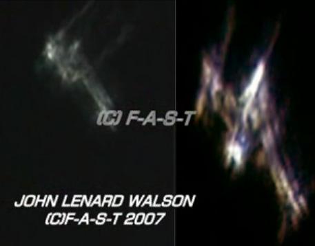 John Lenard Walson a filmer des objets énormes dans l'espace Dd