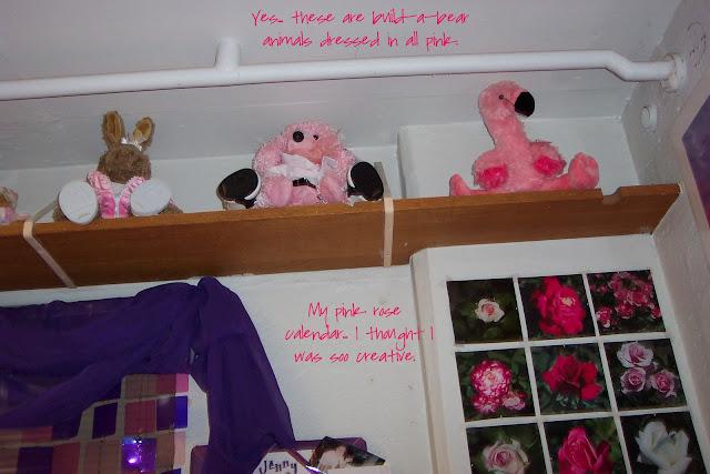 Purple Dorm Room