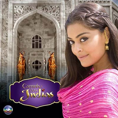 Capa do CD trilha sonora Caminho das indias