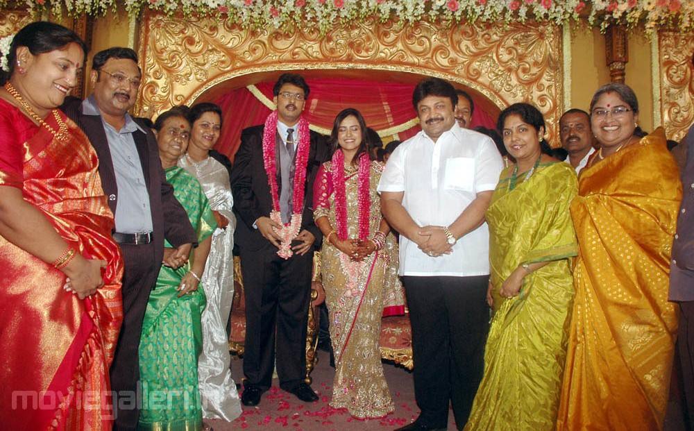 Ajith Surya Durai Dayanidhi Alagiri Anusha Wedding Reception Photos
