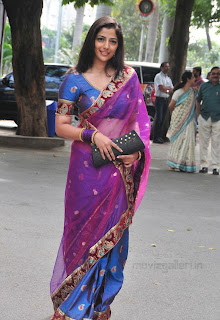 Nishanthi Evani Hot Saree Stills