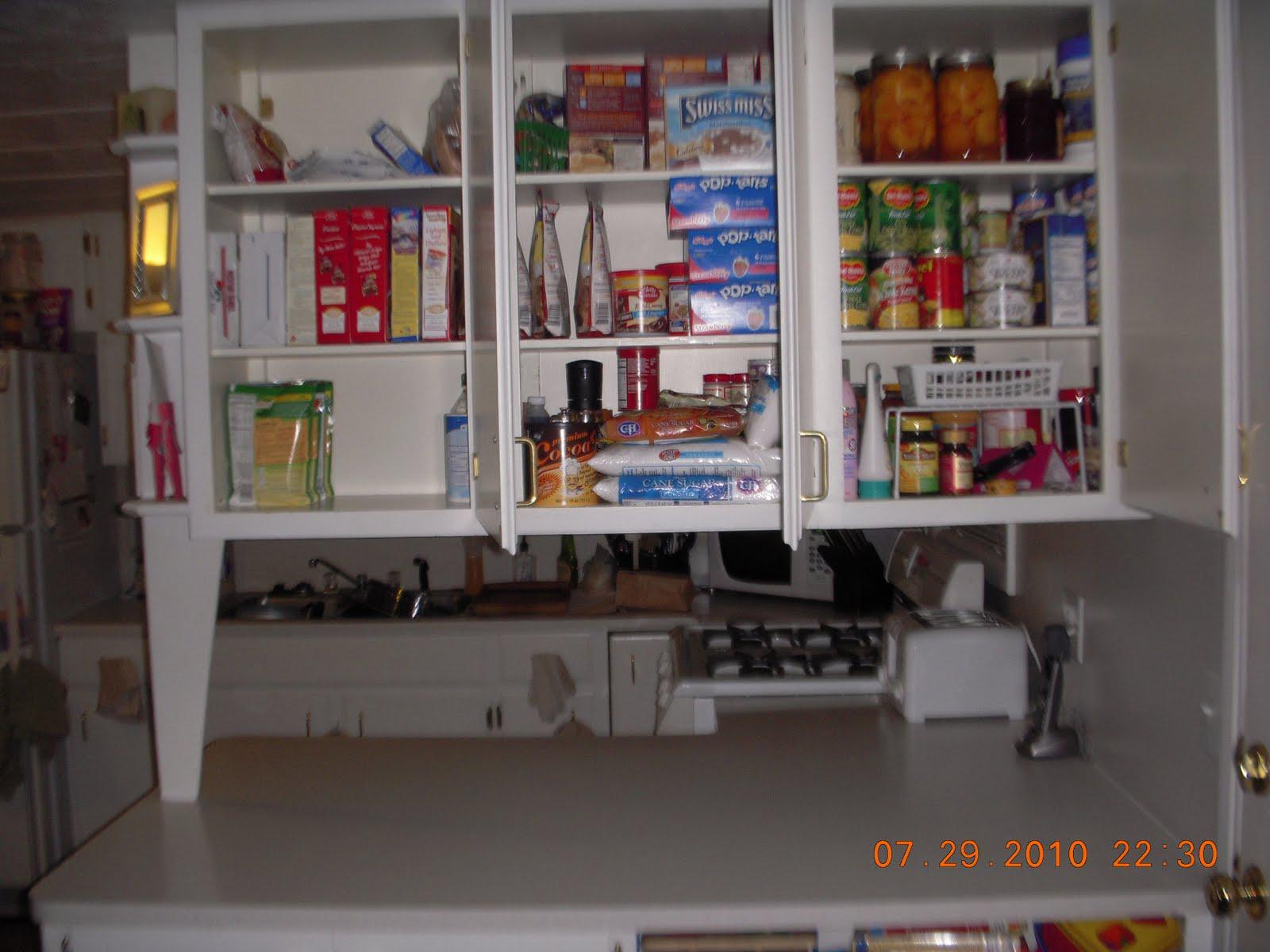Crafty Mommy Diva Kitchen Cabinet Reorganization