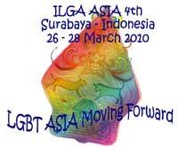 Affiche officielle de la conférence régionale d'ILGA Asia de Surabaya.