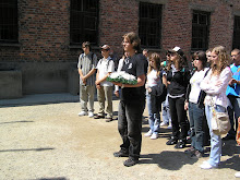 Slovak students at Auschwitz-June 2008