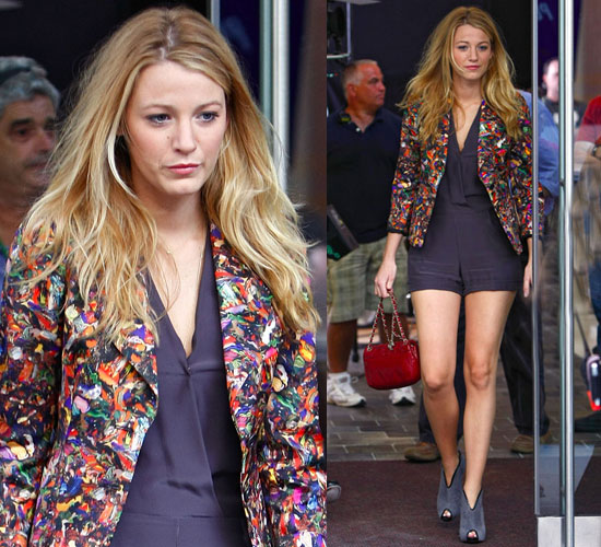 blake lively out and about