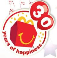 30 Years of Happy Meal
