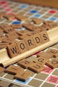 Scrabble Tiles copyright by FotoSearch