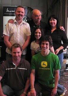 Team South Burnett with Ian Parmener