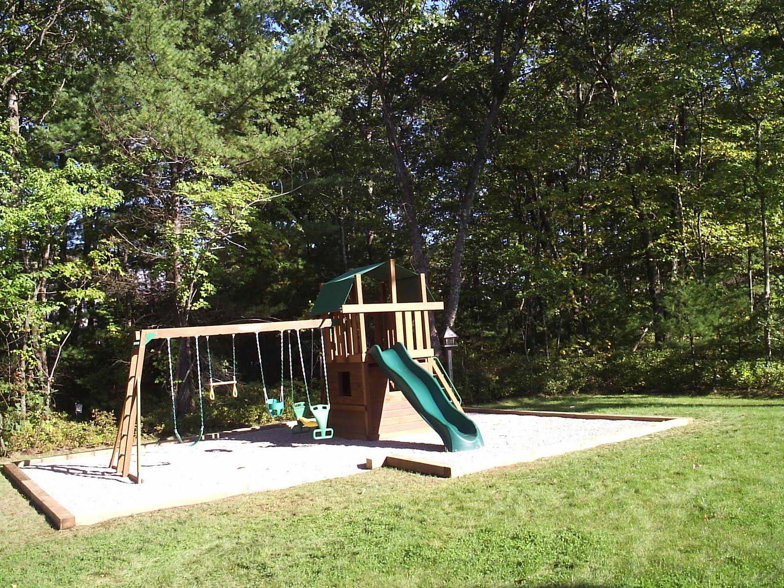 the groundskeeper inc backyard play area