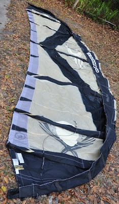 cabrinha kite repair leading edge
