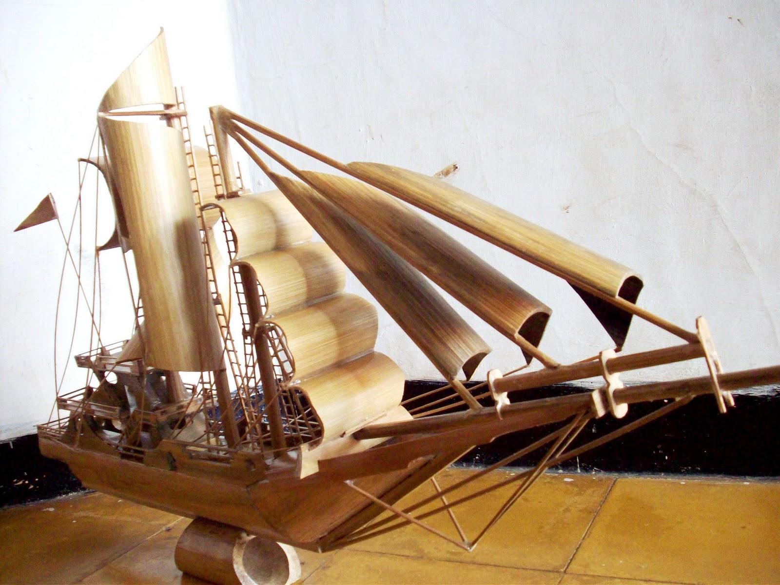 Download image Membuat Kerajinan Perahu Dari Bambu PC, Android, iPhone