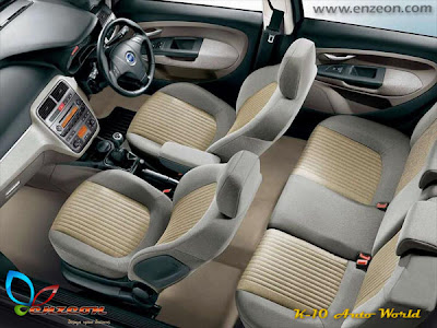 fiat punto interior. Grande Punto is available with