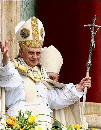 pope benedict xvi pictures. DUBLIN -- Pope Benedict XVI