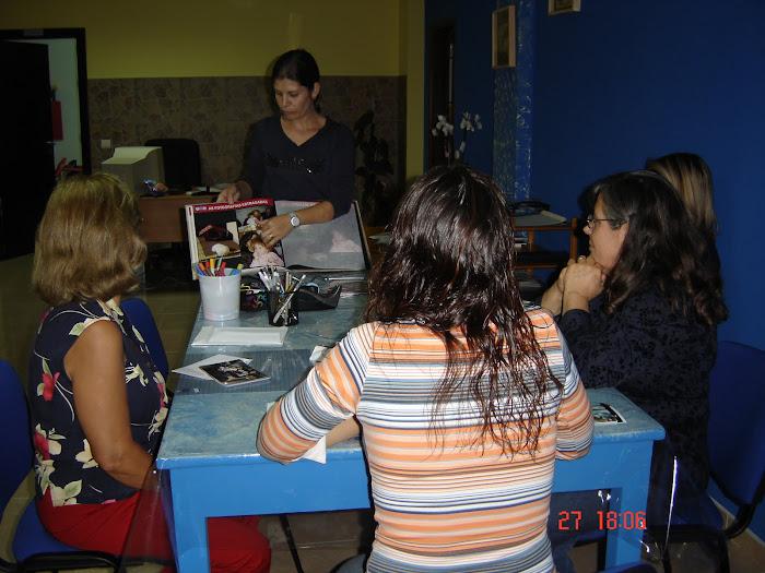 O primeiro atelier da Gabriela