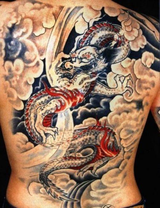 back tattoos for guys. Full ack tattoos for men