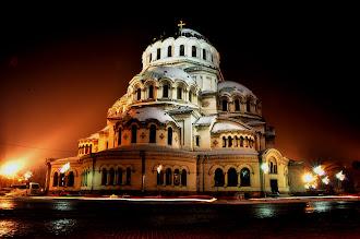 Alexander Nevski Church At Night