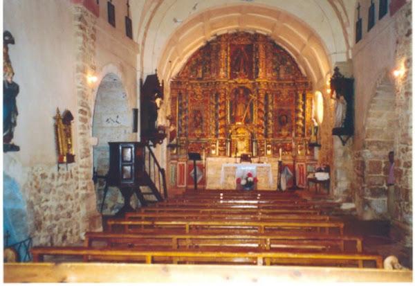 La nave central de la iglesia