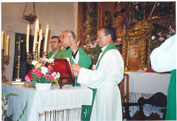 Celebración de la Santa Misa, Junio 2002
