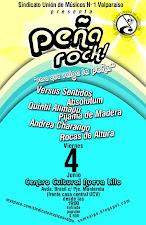 Gran Peña Rock Sindicato Unión de Músicos Valparaíso