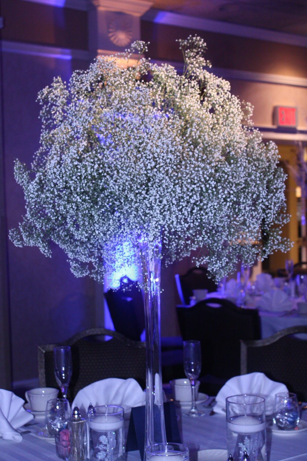 All things beautiful a white christmas wedding reception