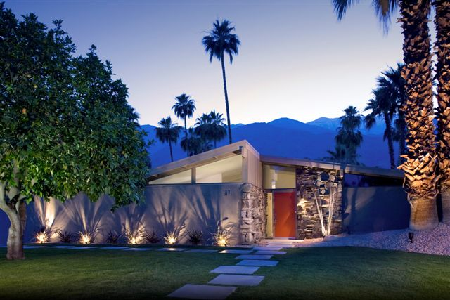Russell hill palm springs area real estate palm springs for New modern homes palm springs